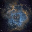 Rosette Nebula - narrowband Hubble Palette,                                jsines