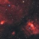 The Bubble nebula and M52,                                  yjuill
