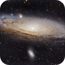 Galaxia de Andromeda M31,                                Faus Márquez