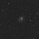 M101 - Pinwheel Galaxy,                                Mark Spruce