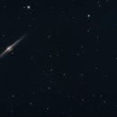 NGC 4565 Galaxie de l'Aiguille (without moon),                                martial_julian