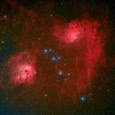 ic410 and Flaming Star Nebulae,                                Chris Heapy
