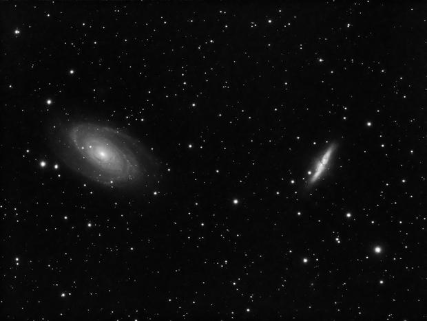 M81 and M82,                                Jason Hissong