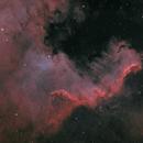 NGC 7000 Great Wall in Bicolor,                                Jens Zippel