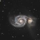 M51 - Arp 85 - Whirlpool Galaxy,                    Gary Imm