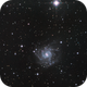 NGC7424 Grand Design Galaxy,                                  Kevin Parker