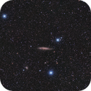 NGC4945 from light polluted skies,                                Diego Cartes