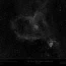 IC1805 - Sh2-190 - NGC896 - Melotte 15 - Heart Nebula in Hα,                                Uwe Deutermann
