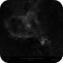 IC1805 - Sh2-190 - NGC896 - Melotte 15 - Heart Nebula in Hα,                    Uwe Deutermann