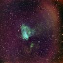 M17 con Hubble Palette,                                Enrico Benatti