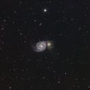M51 Whirlpool Galaxy,                                mistateo