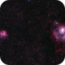 M8 Lagoon and M20 Triffid Mosaic,                                turbo_pascale