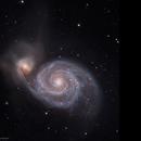 M51 Whirlpool Galaxy (LRGB),                                Jian Yuan Peng