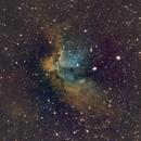 NGC7380: The Wizard Nebula (NSHO),                                orangemaze