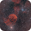 IC443 Jelly Fish Nebula with One Shot Color Camera,                                Stephan Linhart