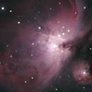 The Orion Nebula and De Mairan's Nebula,                                Evelyn Decker