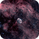 NGC6888 Crescent Nebula wide,                                Rich