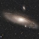 Galaxie d'Andromède M31,                                  AstronoMick