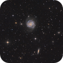 Galaxy Messier 100 and friends,                                Jenafan