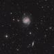 Galaxy Messier 100 and friends,                                Jenafan