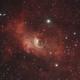 NGC 7635 - Bubble nebula + M52,                                Tom914