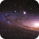 M31, detail,                                Gianni Cerrato