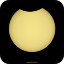 Partial Solar Eclipse - at 47.5°N (20210610),                                firstLight
