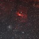 M52  NGC7635,                                MarcoFavuzzi