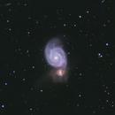M 51 (Whirlpool Galaxy),                                Wesley Creech