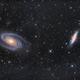 M81 + M82 LRGB,                                Thomas Westphal