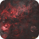 Cygnus widefield in narrowband,                                alexbb
