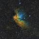 NGC7380 Wizard nebula in HST,                                Sergiy_Vakulenko
