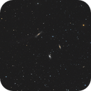 """Leo Triplet and NGC 3593 (6""""/px),                                Roland Schliessus"""