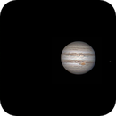 Jupiter and Callisto, on December 30th, 00h08. ,                                Daniel Leclerc