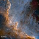 NGC7000 Cygnus Wall - SHO,                                David Quiles