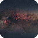 Milky Way panorama - summer 2020,                                Michael S.