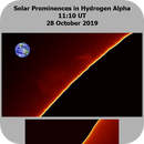 Sun - Ha - 11:10UT - 28 October 2019,                                Roberto Botero