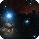 flame and horsehead nebula,                                Andrea Collevecchio