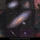2016 Astrophoto collage,                                Gabe Shaughnessy