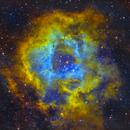 Rosette Nebula - NGC2244 - SHO - V2,                                Kyle Pickett