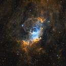 Bubble Nebula in SHO,                                Kevin Holtz