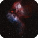 Sh2-311 - NGC 2467 in HOO/RGB + HHOO version,                                Uwe Deutermann