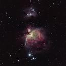 M42 in LRGB,                                Jose El Corazon