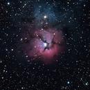 Trifid Nebula,                                ken_and_sara
