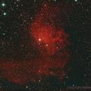 Flaming Star Nebula in Auriga,                                Nadeem Shah