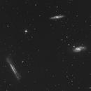 M66 -M65 -NGC 3628 ( Trio du Lion ),                                jp-brahic