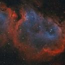 IC1848 Soul Nebula Bicolor with RGB Stars,                                Jens Zippel