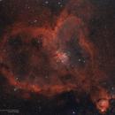 Heart Nebula (IC 1805) Ha+OIII,                                alpheratzlaboratory