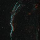 NGC 6960 - Western Veil Nebula in HOO,                                ChrisG_BNE