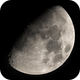 20 panel mosaic of the 9 day old gibbous Moon,                                gary259